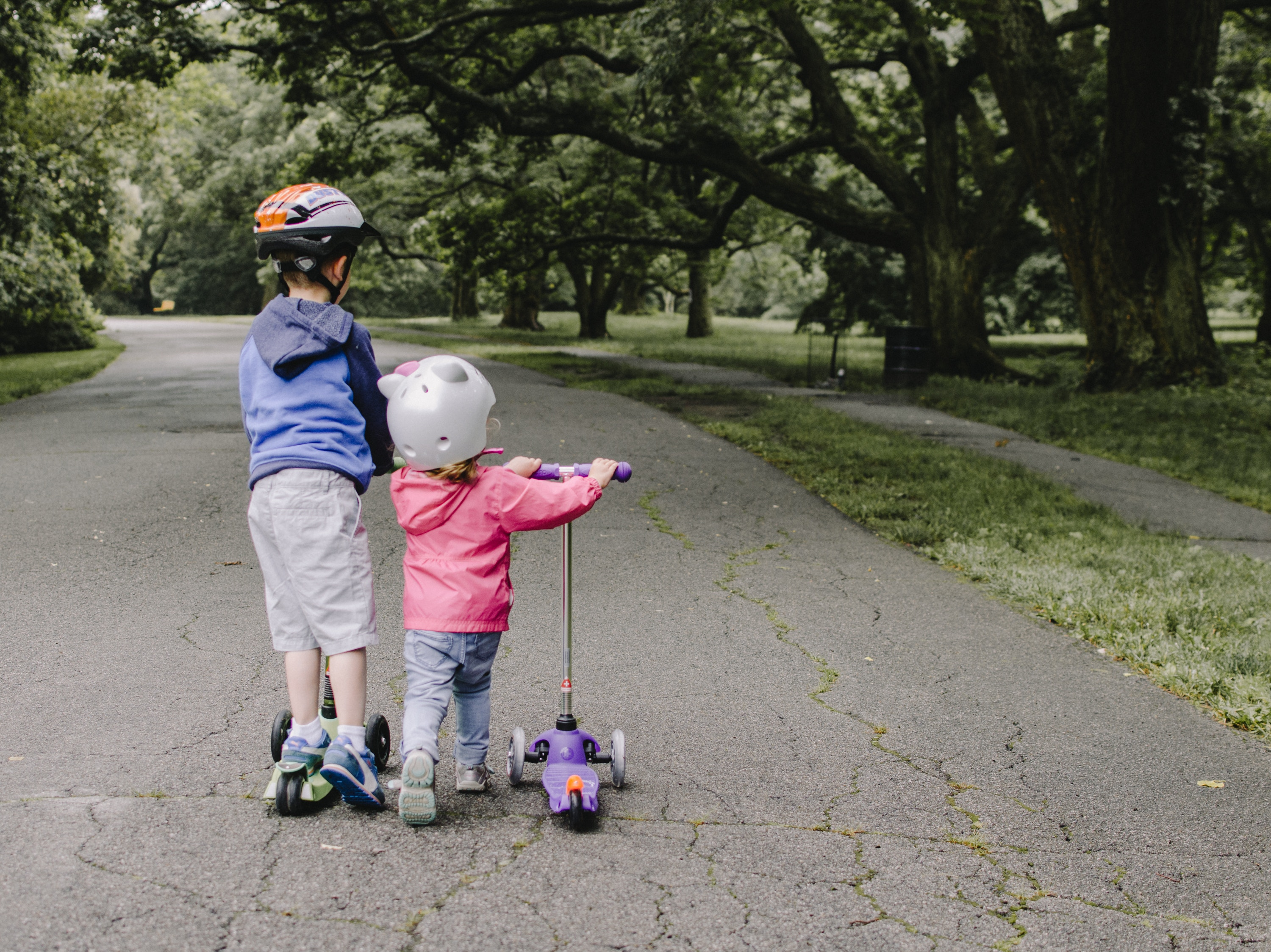 Kids on Scooters