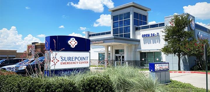 surepoint emergency center rowlett